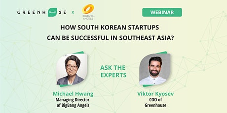 How South Korean startups can be successful in Southeast Asia? tickets