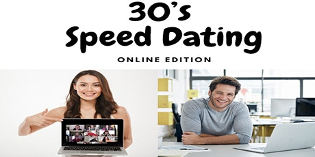 Online Speed dating: Ages 30-39 tickets