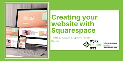 Creating your website with Squarespace – Webinar