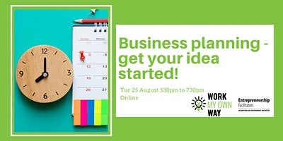 Business Planning – Get Your Idea Started! – Webinar