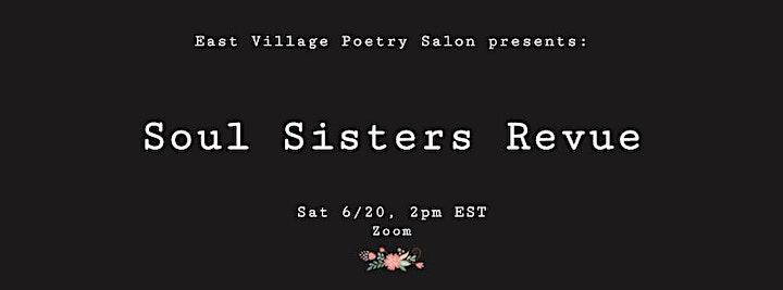 East Village Poetry Salon presents: Soul Sisters Revue image