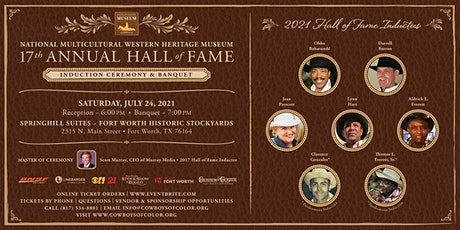Multicultural Western Heritage Museum Hall of Fame Induction Weekend Events tickets
