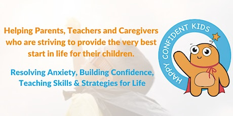 Individual Coaching for children to resolve anxiety and build confidence tickets