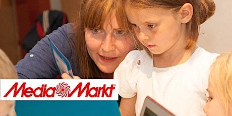 Coding: ScratchJr - Unsere kleine Stadt @MediaMarkt: Family Workshop Tickets