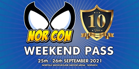 NORCON - WEEKENDER - 25th - 26th Sept 2021 tickets