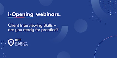 Client Interviewing Skills - are you ready for practice? tickets