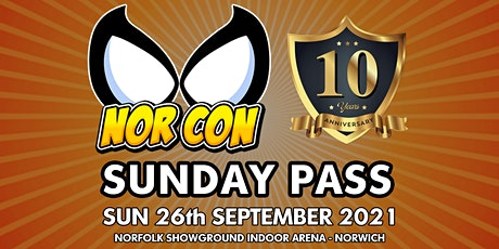 NORCON Day 2 - Sun 26th Sept 2021 tickets
