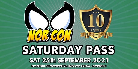 NORCON Day 1 - Sat 25th Sept 2021 tickets