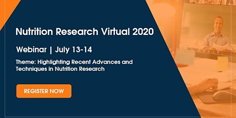 Nutrition Research Virtual 2020 tickets