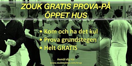 ZOUK Öppet Hus • Gratis Prova-På Dansklass & Social biljetter