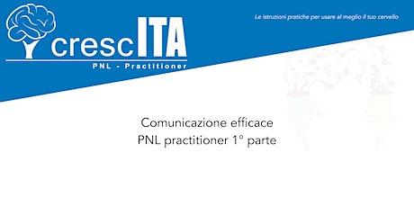 PNL practitioner parte I - comunicazione efficace biglietti