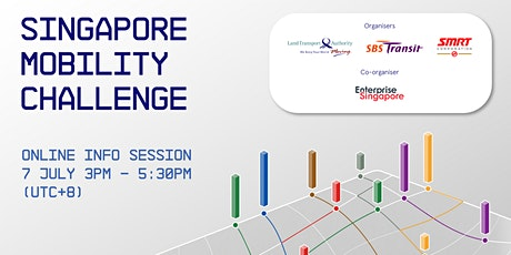 Singapore Mobility Challenge 2020: Online Info Session tickets