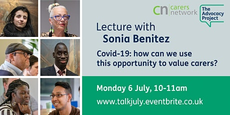 Covid-19: how can we use this opportunity to value carers? tickets