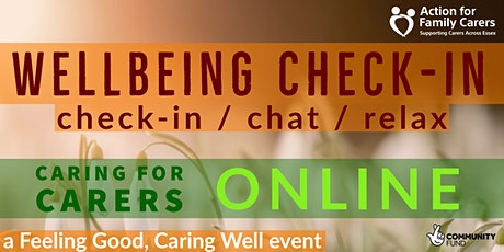 WELLBEING CHECK-IN tickets