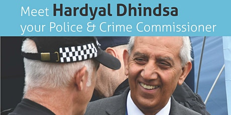 Meet Your Police & Crime Commissioner Hardyal Dhindsa- NE Derbyshire tickets