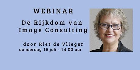 Webinar 'De Rijkdom van Image Consulting' tickets