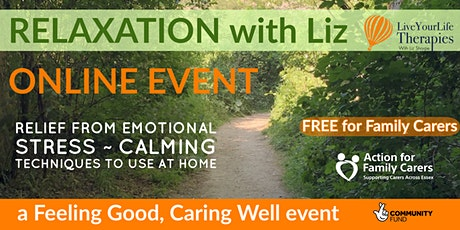 RELAXATION with Liz tickets
