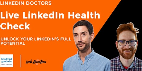 LinkedIn Health Check: Unlock Your LinkedIn's Hidden Potential tickets
