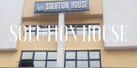 HCC SOLUTION HOUSE PRE-OPENING SITTING SPACE FIRST SERVICE tickets