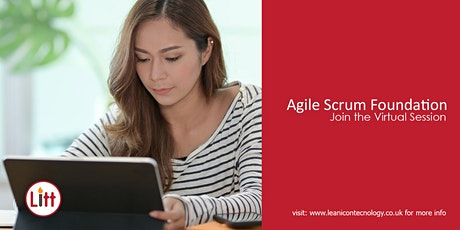 Agile Foundation and Scrum Framework Virtual Training tickets