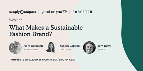 What Makes a Sustainable Fashion Brand? tickets