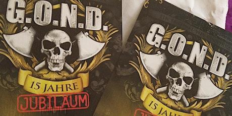 2 Karten für gond Festival Tickets