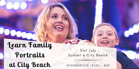 Learn Family Portraits at City Beach tickets