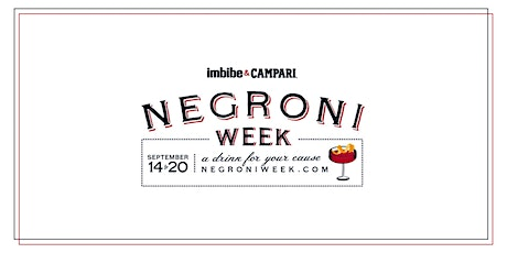 Negroni Week 2020 Tickets