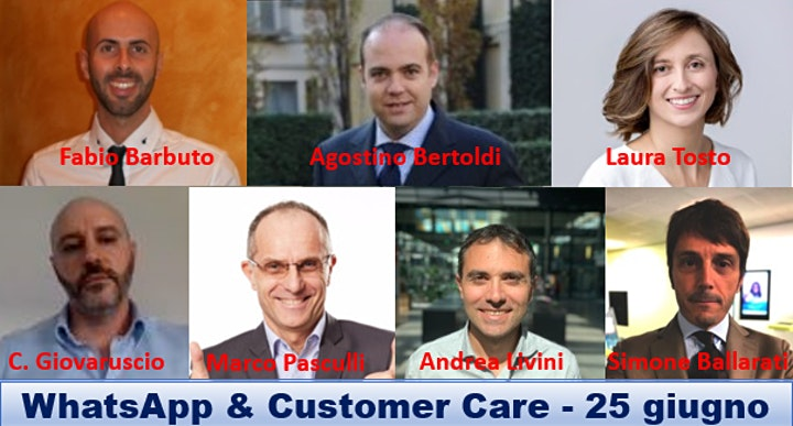 Immagine WhatsApp & Customer Care, oggi