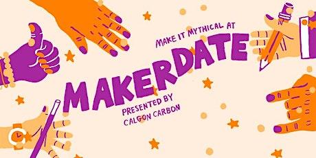 MakerDate fundraiser for Assemble tickets
