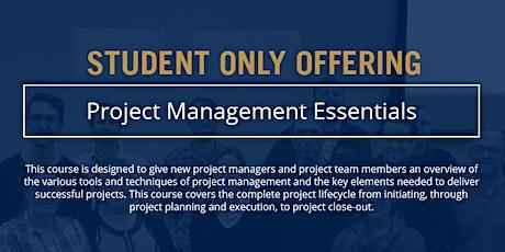 Project Management Essentials - Student Offering [ONLINE] tickets