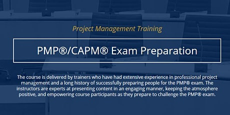 PMP Exam Preparation [ONLINE, Fall 2020] tickets