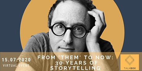 From 'Them' to Now: 30 Years of Storytelling by Jon Ronson tickets