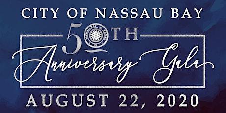 Copy of City of Nassau Bay 50th Anniversary Gala tickets