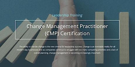 Change Management Practitioner™ (CMP) Certification Program [December 7-11] tickets