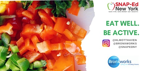 BronxWorks SNAP-Ed Nutrition Education and Cooking on a Budget tickets
