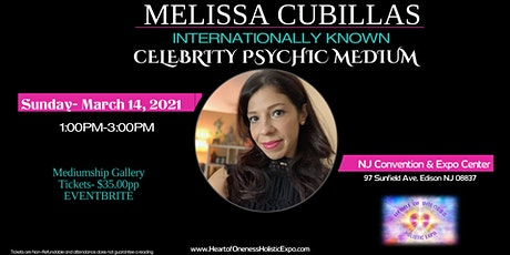 Messages from Heaven: A mediumship gallery with celebrity psychic medium Melissa Cubillas (MC) tickets