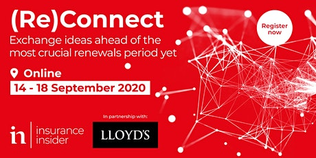 Insurance Insider ReConnect 2020 tickets