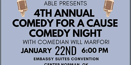 ABLE Presents: 4th Annual Comedy for a Cause Comedy Night tickets
