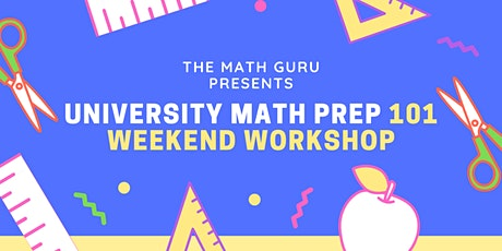 (Virtual) University Math Prep 101 tickets