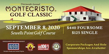13th Annual Montecristo Golf Classic tickets