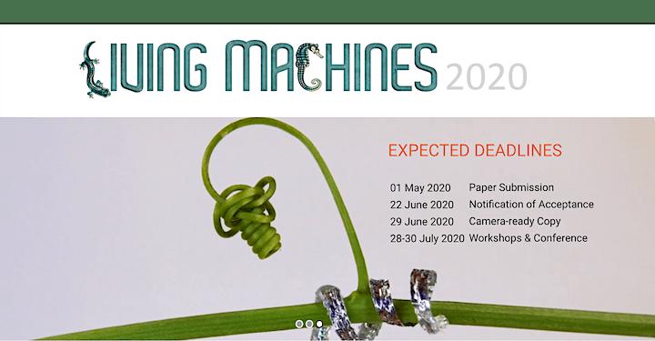 Living Machines 2020 image