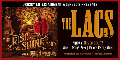 The Lacs - The Rise and Shine Tour tickets