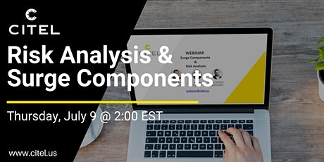Surge Components and Risk Analysis Webinar tickets