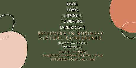 Believers in Business Virtual Conference biglietti
