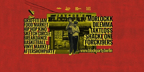 Jayroe's BLOCK PARTY BERLIN Tickets