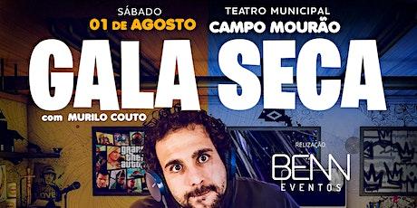 Murilo Couto em Campo Mourão - Pr   *Sessão Extra 21h15 bilhetes