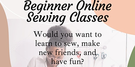 Online Beginner Sewing Classes tickets