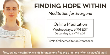 Meditation: Finding Hope Within tickets