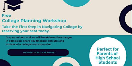 Loveland Free College Planning Workshop tickets